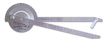 1 degree protractor